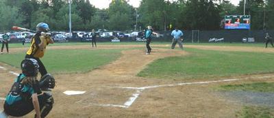 MLL softball action