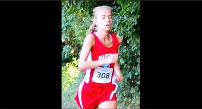 Marshall runner Sophie