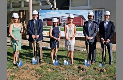 Langley School breaks ground for new building