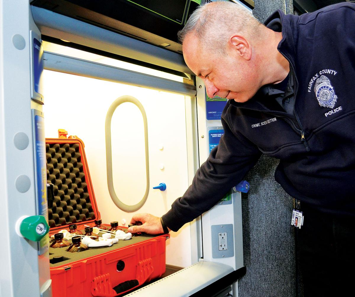 Fairfax mobile forensics lab 2