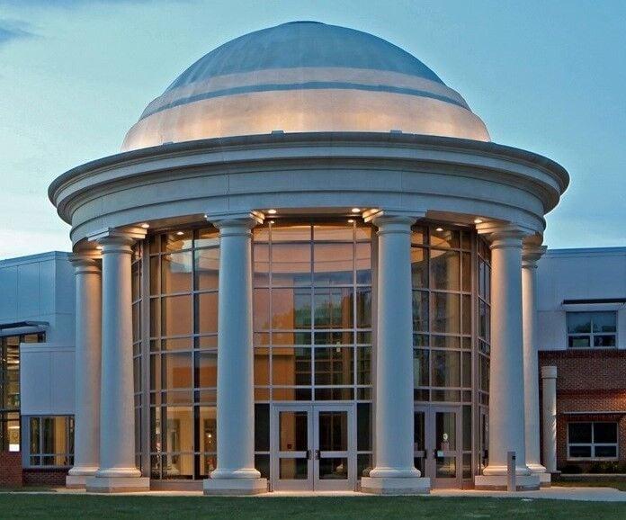 Thomas Jefferson School Dome