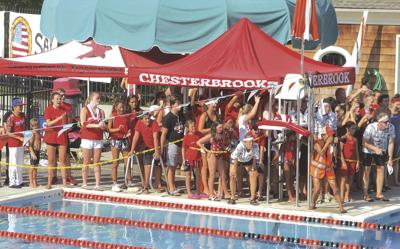 Chesterbrook swimming team