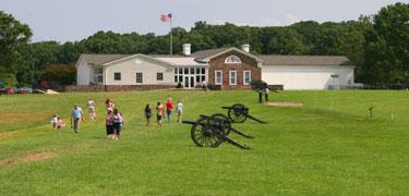 Manassas Battlefield visitors center