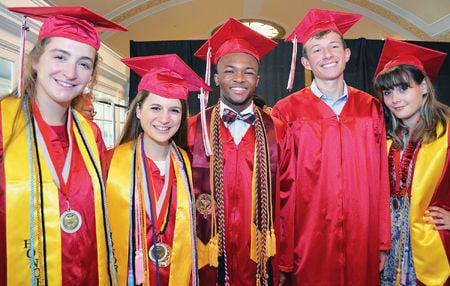 2016 McLean High School graduation 1