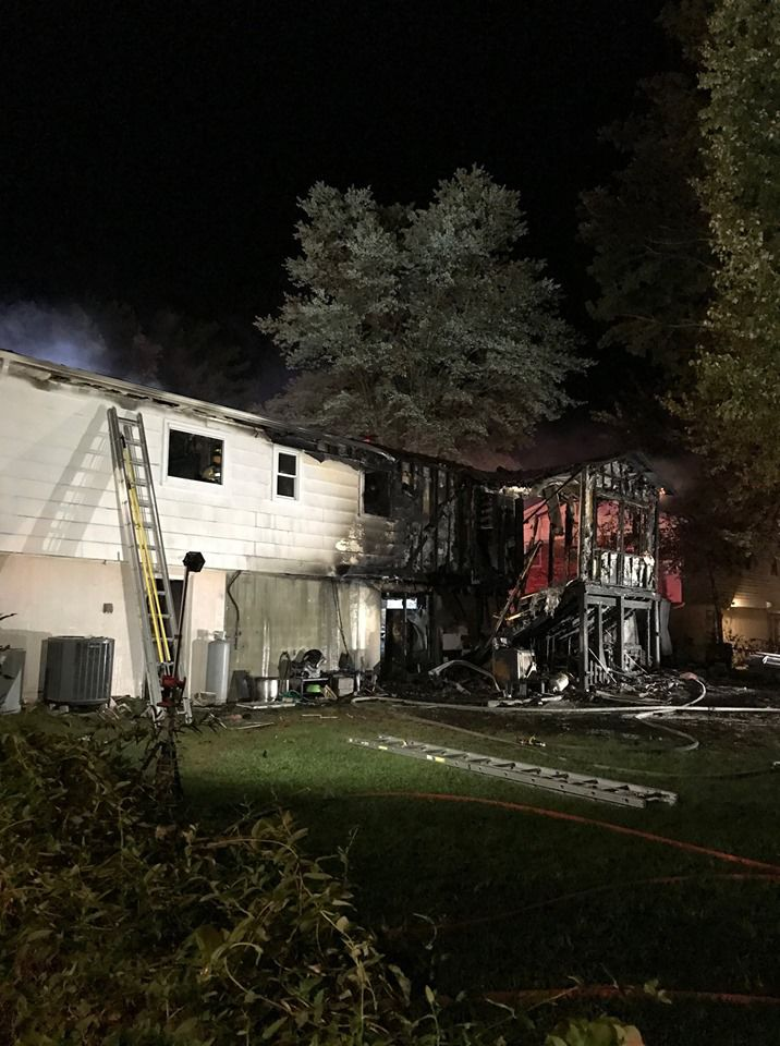 Nine displaced after Dale City house fire