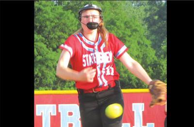 Marshall softball pitcher