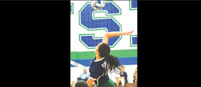 Volleyball player from Flint Hill