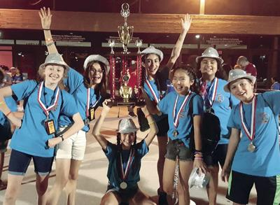 Reagan Middle School wins second at Odyssey of the Mind World Finals
