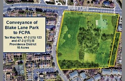 Fairfax supervisors to ponder future of Blake Lane Park