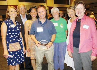 Local resident honored for service to AFAC