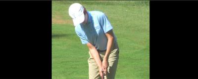 Yorktown freshman golfer