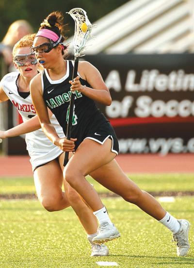 Saxons lacrosse player