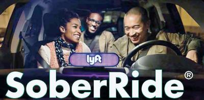 Lyft to supplant taxis in providing 'SoberRide' trips