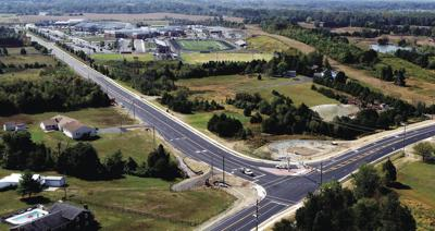 Intersection work completed at Vint Hill and Kettle Run roads