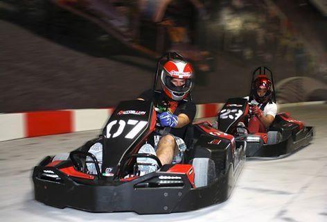 Go Kart Track Indoor Playground Coming To Manassas Mall