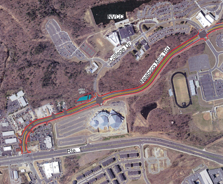Prince William County moves ahead with $34.3 million Neabsco Mills Road widening project