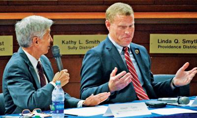 Candidates for Fairfax board chairman diverge on issues, philosophy
