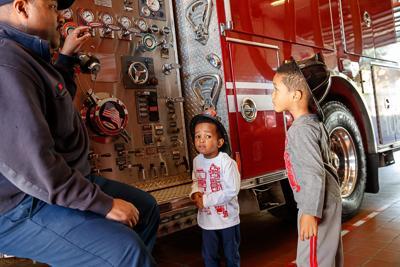 Arlington fire station open house 4 2016