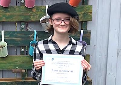 Middle-schooler lauded by McLean AAUW
