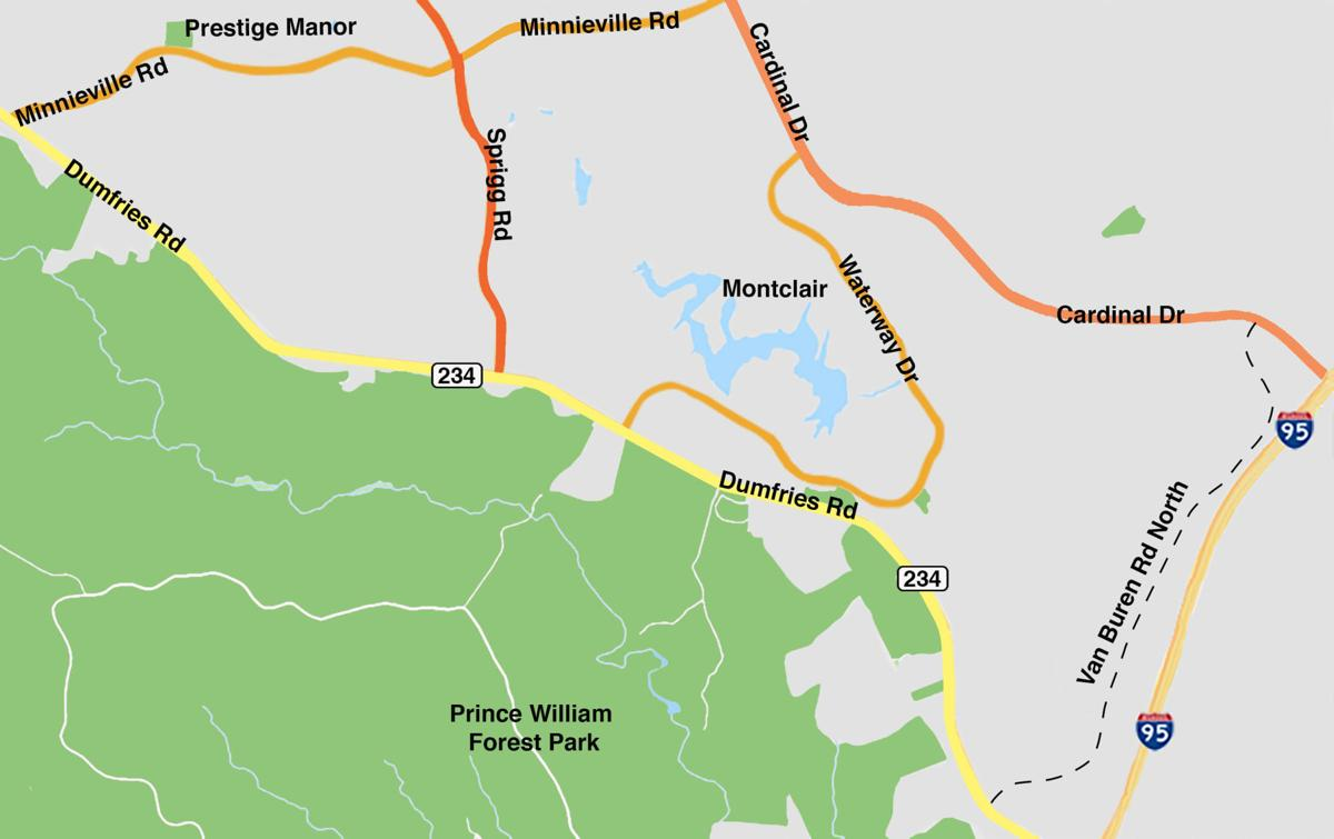 Montclair residents seeing red over sidelined road extension