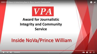 VPA Award InsideNoVa
