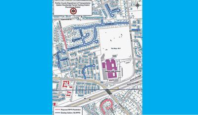Oakton parking district extended