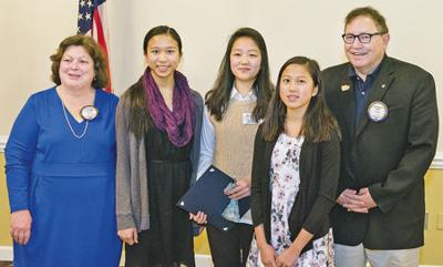 Vienna-area students lauded by Optimist Club