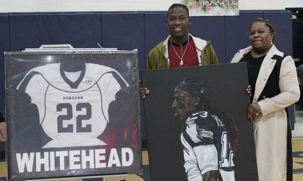 Osbourn retires Lucky Whitehead's jersey and number | Sports ...