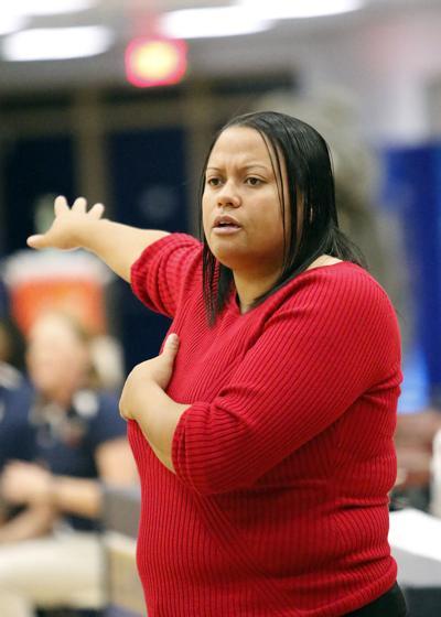 Woodbridge vs. Hylton womens basketball 12-12-14