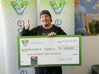 Stafford man wins top prize in $250K scratcher
