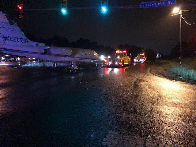 Jet towed on Prince William Parkway (Pics)