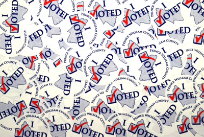 generic I voted stickers