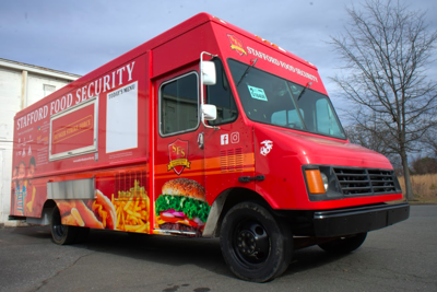 New food truck helps Stafford Food Security combat hunger