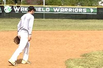 Wakefield baseball practice