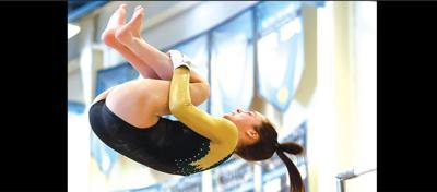 Langley high vaulter Stout