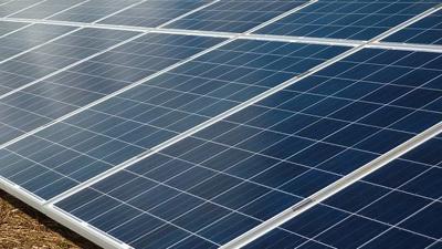 Solar Panels Farm Pixabay