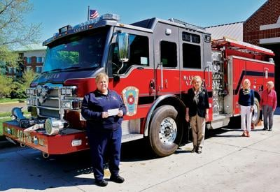 Woman's Club supports McLean Volunteer Fire Department