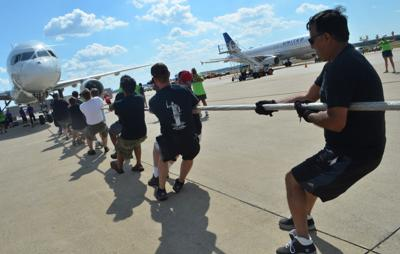 Dulles Plane Pull