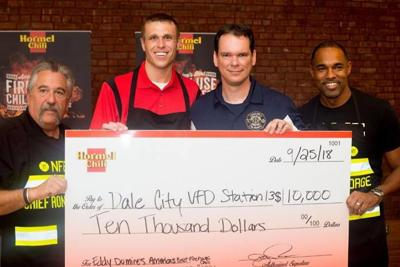Dale City firefighter wins $10,000 in national chili contest
