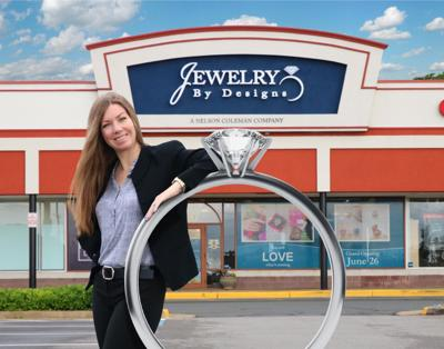 Amanda Coleman-Phelps, owner of Jewelry By Designs
