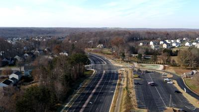 Minnieville Road widening completed between Dumfries and Spriggs