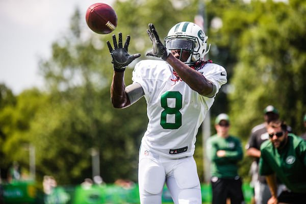 Jets WR Lucky Whitehead Suffers Foot Injury; out Indefinitely