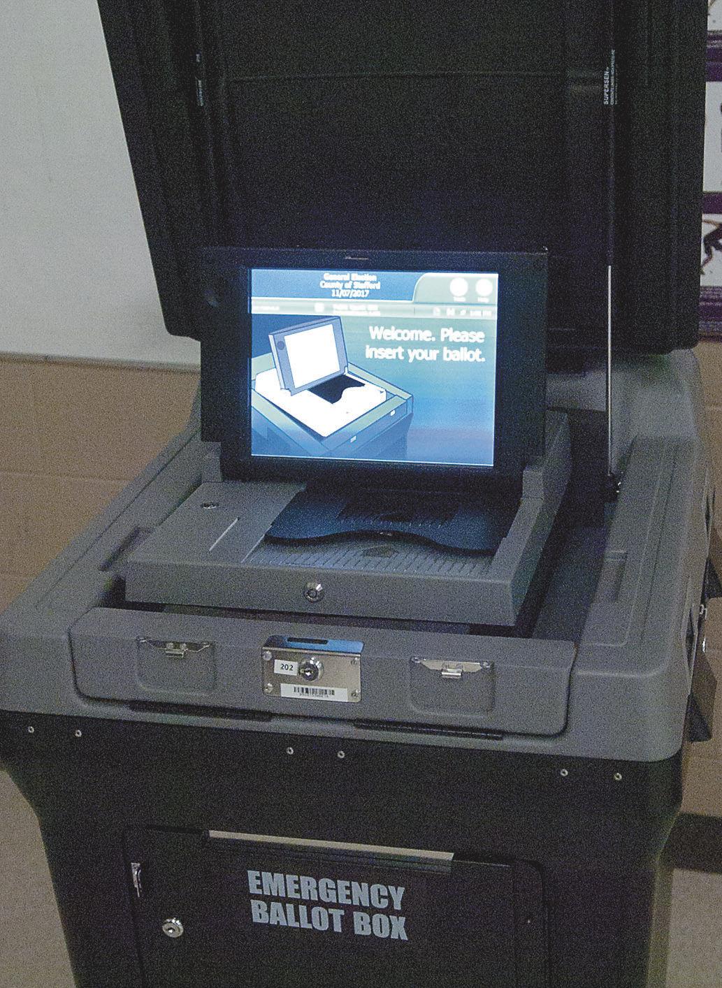 Ballot Box Scanner Election