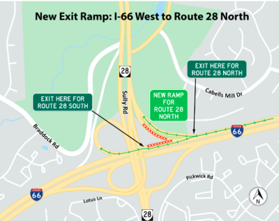 66 ramp changes