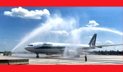 D.C. region welcomes Alitalia air service from Rome