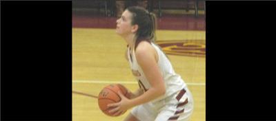 Oakton basketball player Grace