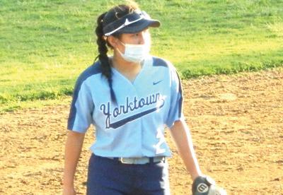 Yorktown softball shortstop