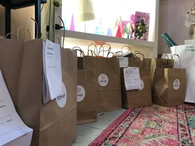 Arlington store's surprise gift bags become pandemic's latest trend