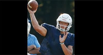 Yorktown quarterback