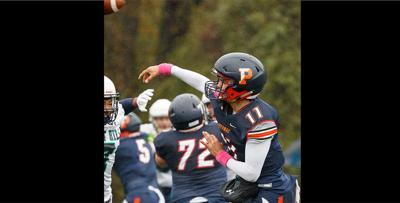 Potomac School quarterback